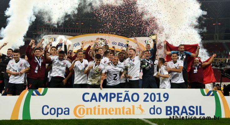 Athletico-PR derrota Inter por 2 a 1 e conquista Copa do Brasil