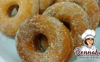 Receita de Donuts Açucarados