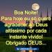 Mensagem de boa noite abençoada por Deus